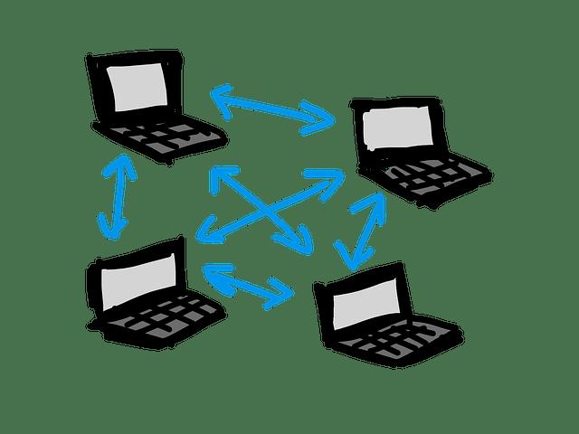 P2P-nätverk illustrerat
